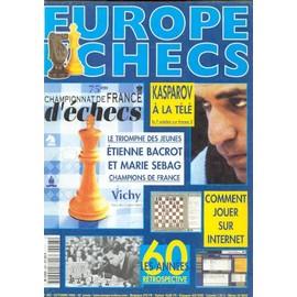 Europe Echecs N� 493 : Champinnat De Frace D'echecs
