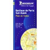 Banlieue De Paris - Banlieue Sud-Ouest, Plan Avec R�pertoire, 1/15 000 de Collectif