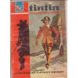 Journal De Tintin N� 898 : Capitan Et L Agent Secret