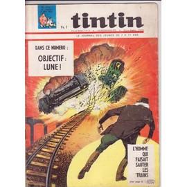 Journal De Tintin N� 922 : Objectif Lune
