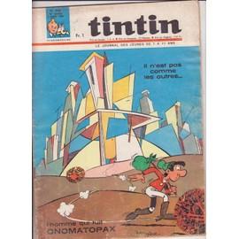 Tintin N� 928 : L'homme Qui Fuit Onomatopax