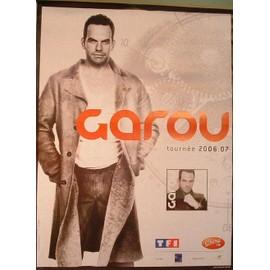 Garou tournée 2006/07 - affiche 80 x 120Cm