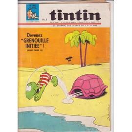 Journal De Tintin N� 980 : Devenez Grenouille Initiee