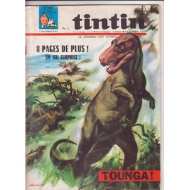 Journal De Tintin N� 998 : Tounga