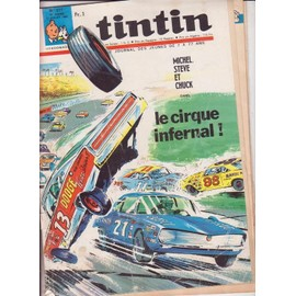 Journal De Tintin N� 977 : Le Cirque Infernal