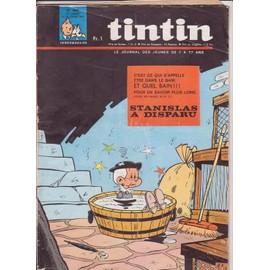 Journal De Tintin N� 990 : Stanislas A Disparu