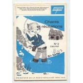 Chants Et R�citations N�2 Cm2 - Fep de De L �ducation Nationale Minist�re