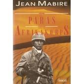Les Paras De L'afrikakorps de Jean Mabire