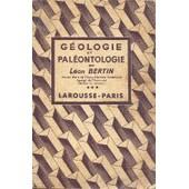 G�ologie Et Pal�ontologie de l�on bertin
