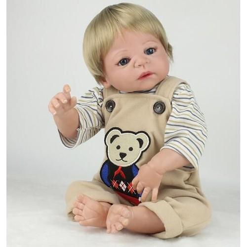 55 cm reborn poup es b b poup e jouets pour enfants filles. Black Bedroom Furniture Sets. Home Design Ideas