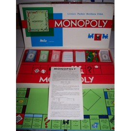 Monopoly Edition Miro Ann�es 70