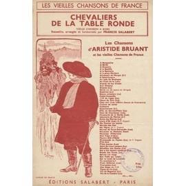 Chevaliers de la Table Ronde. Vieille chanson a Boire (Partition)