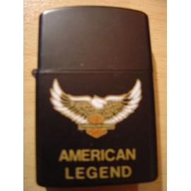 Briquet Serigraphie American legend