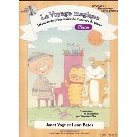 Le Voyage magique - Niveau 1 - Piano + CD