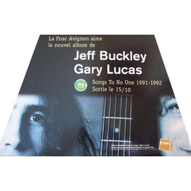 jeff buckley-gary lucas-songs to no one-plv