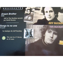 jeff buckley-songs to no one/tim buckley-dream brother/plv