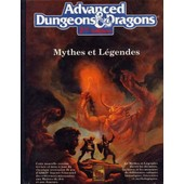 Ad&d2, Mythes Et L�gendes de Collectif, -