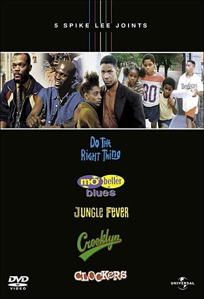 SPIKE LEE: DO THE RIGHT THING, JUNGLE FEVER, CLOCKERS, MO' BETTER BLUES, CROOKLYN - COFFRET 5 DVD...