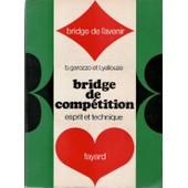 Bridge De Comp�tition Esprit Et Technique de L. Yallouze