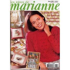 Les Id�es De Marianne N� 87 : Les Fleurs Et Les Couleurs Du Printemps