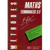 Maths Terminales C-E de Claudine Renard