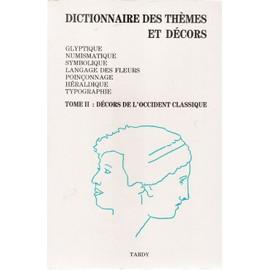 DICTIONNAIRE DES THÈMES ET DÉCORS, occasion d'occasion  Livré partout en France