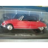 Citro�n Ds19 D�capotable - 1961 - 1/43 ( Rouge )