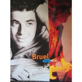 patrick BRUEL - programme tour 94/95
