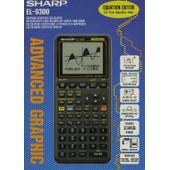 Sharp El 9300 - Calculatrice Scientifique Programmable Graphique �volu�e Avec Son Imprimante Ce 50 P D�di�e
