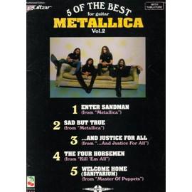 metallica  - 5 the best of vol 2