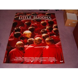"affiche 120 x 160 ""little buddha"" bernardo bertolucci - keanu reeves - bridget fonda - chris isaak"