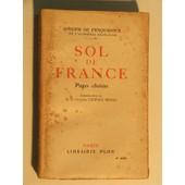 Sol De France de joseph dubosc de pesquidoux