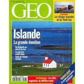 G�o N� 198 : Islande, La Grande �motion