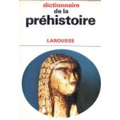 Dictionnaire De La Pr�histoire de michel br�zillon