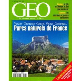 G�o N� 207 : Parcs Naturels De France