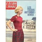 L' Echo De La Mode N� 35 : Honor� D' Estienne D' Orves - R. Pierre Et J.M. Thibault - Tintin, L'affaire Tournesol - Film: Tarzan Le Magnifique