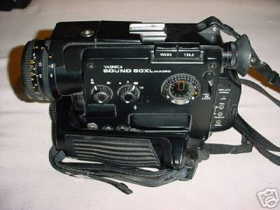 Yashica Sound 50XL MACRO Camera Super 8