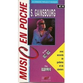PARTITION MUSIC EN POCHE SERGE GAINSBOURG