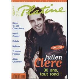 Platine N� 43 : Julien Clerc