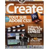 Icreate N� 24 : Tout Sur Adobe Cs3