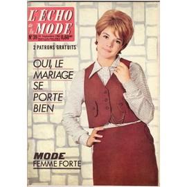L' �cho De La Mode N� 39 : Sylvie Vartan En Couverture