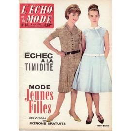 L' �cho De La Mode N� 14 : Mode Jeunes Filles - Gens Du Voyage - Petzi Fermier - Clotilde Lambrot