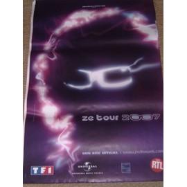 """MICHEL POLNAREFF Affiche concert """"ZE TOUR 2007"""" - 120 x 80 cm"""
