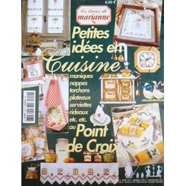 Les Livres De Marianne Hors-S�rie N� 12, Petites Idees En Cuisine Au Point De Croix