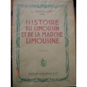 Histoire Du Limousin Et De La Marche Limousine de Nouaillac Joseph