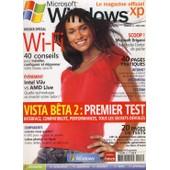 Windows Xp Le Magazine Officiel N� 42 : Vista B�ta 2: Premier Test