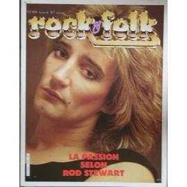 Rod Stewart affiche 20cm X 30 cm promo pour rock and folk