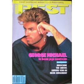 George Michael affiche 40cm X 30 cm promo pour BEST