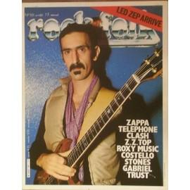 Frank Zappa affiche 40cm X 30 cm promo pour Rock n folk 1980