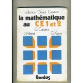 La Math�matique Au Ce1 Et 2 de g�rard capparos